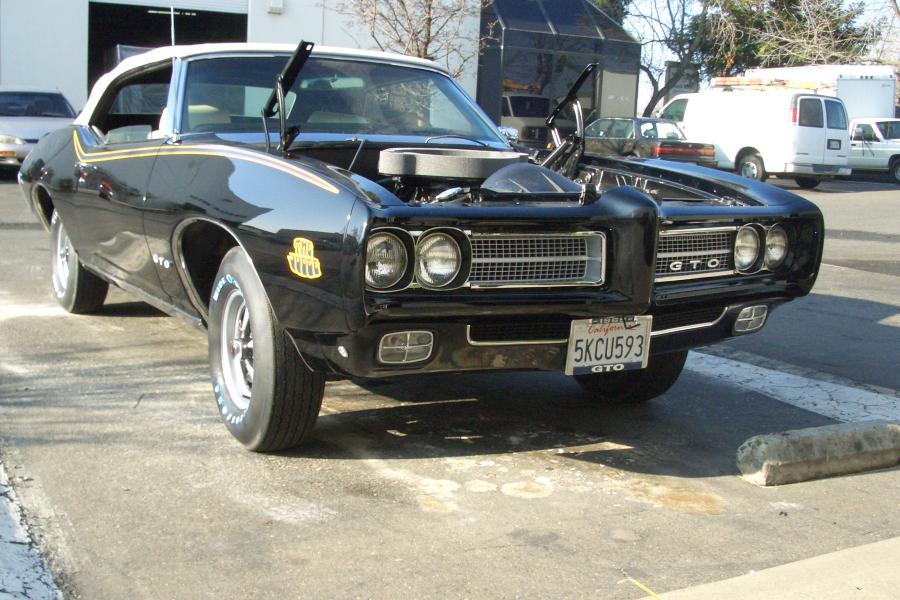 1969 GTO Judge Convertible - Gearhead Garage